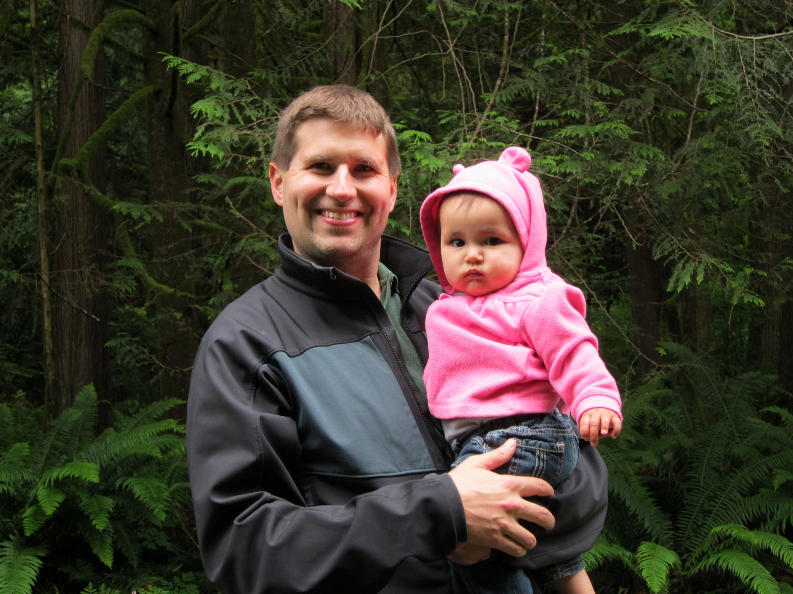 2011: With Kaelyn (9 months)
