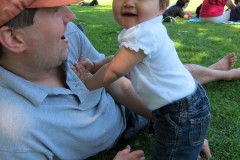 2011: With Kaelyn (10 months)