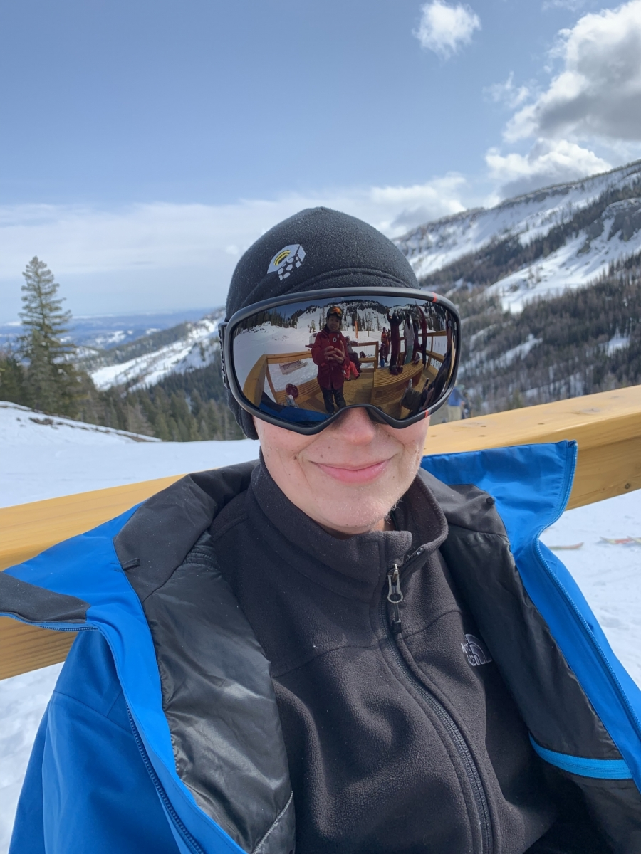 2019: Mission Ridge (Myke skiied after getting H&N radiation)