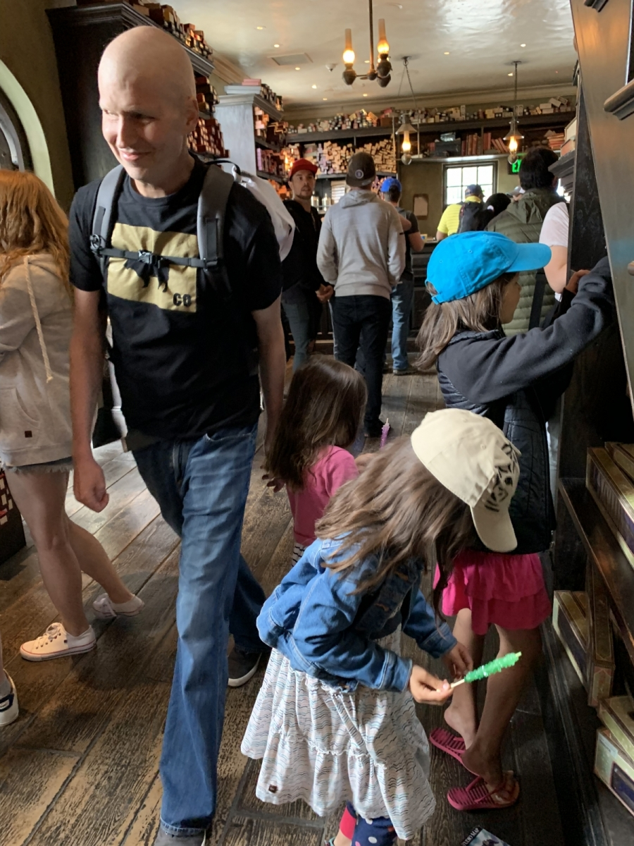2019: Took Kids to Harry Potter World