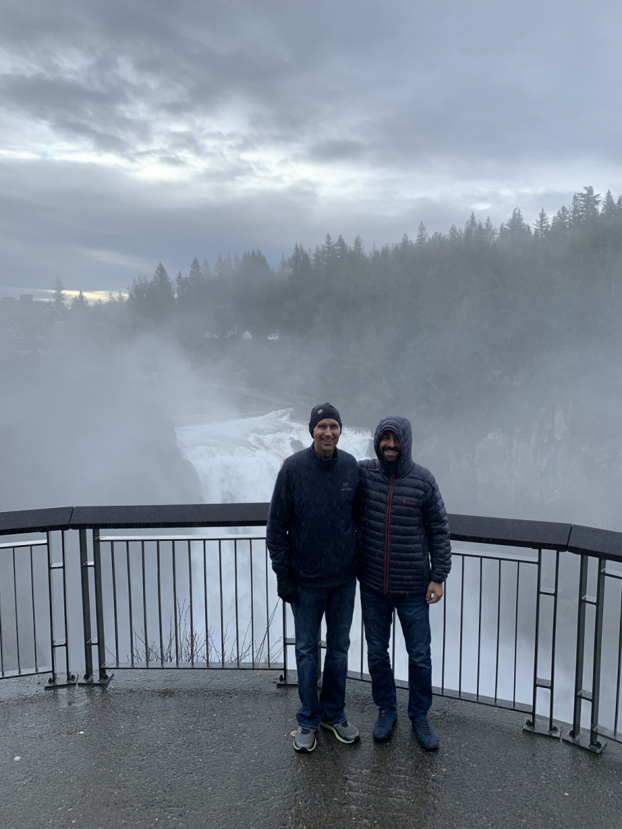 2019: Snoqualmie Falls with Sasha