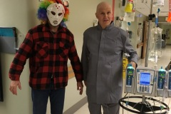 2018: Halloween at UW with Kurt (getting chemo)