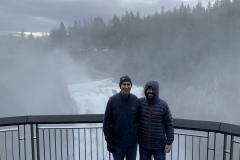 2019: Snoqualmie Falls with Sasha