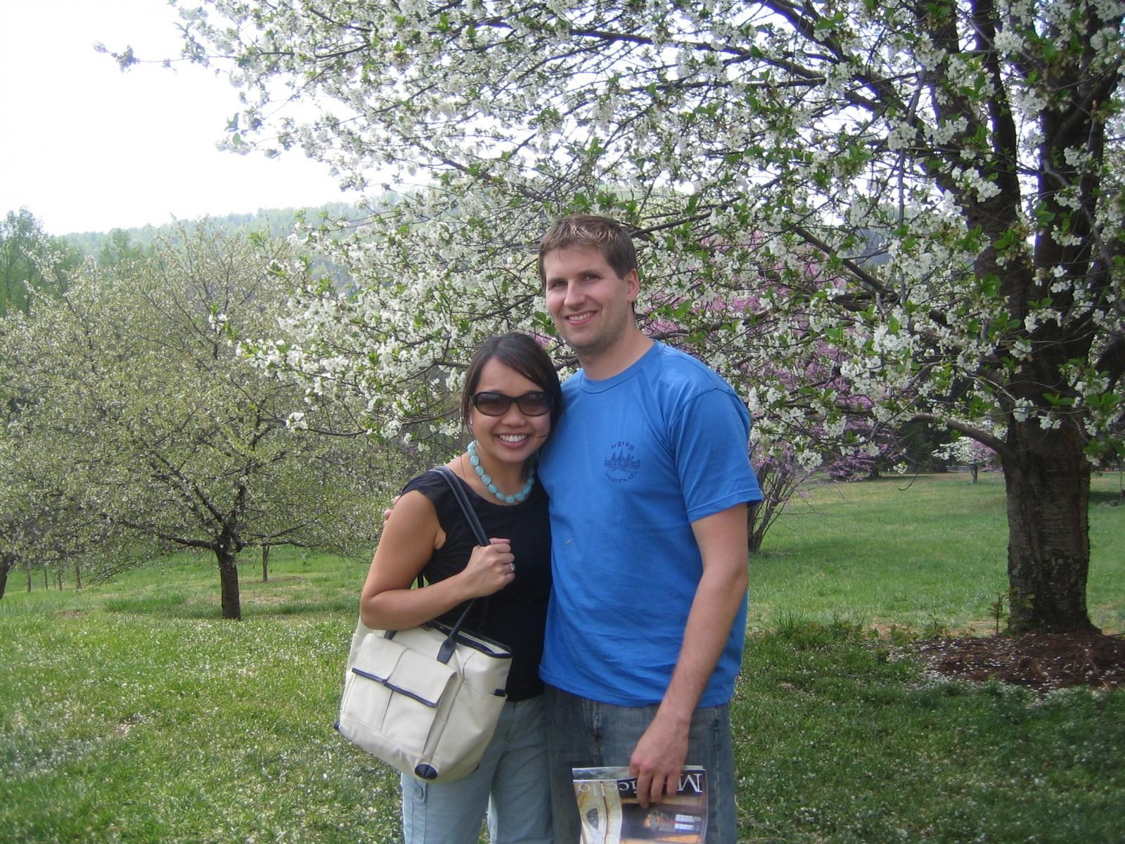 Monticello visit - 2007